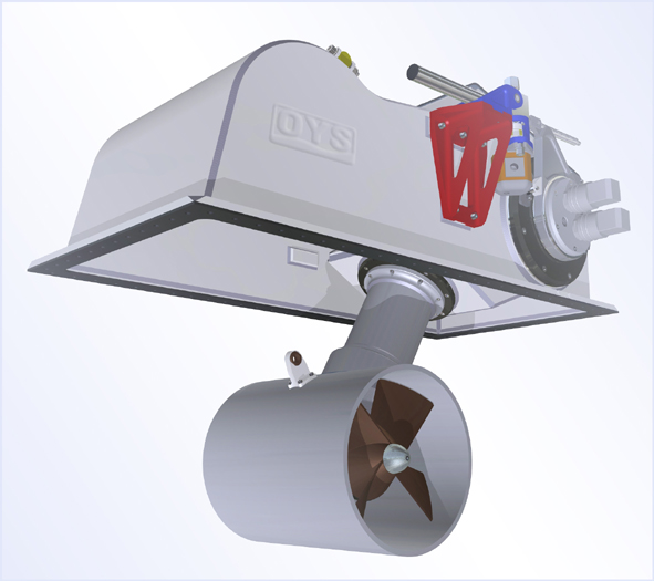 H-0300-S thruster by Ocean Yacht Systems
