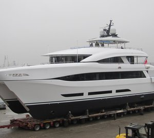 Logos Marine launches 110' motor yacht Quaranta for Curvelle
