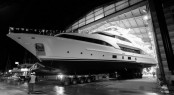 Launch of the Benetti Classic 121 Yacht DYNA