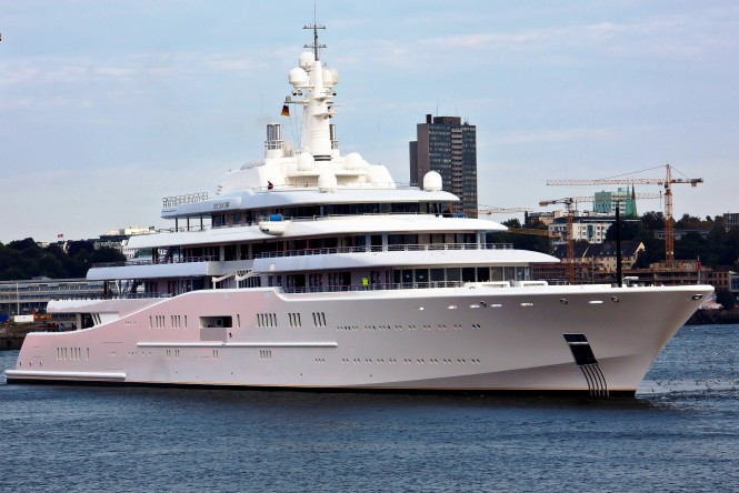 Luxury Motor Yacht ECLIPSE - Photo by Klaus Kehrls