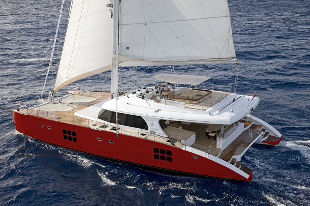Luxury catamaran yacht Sunreef 70 Sailing by Sunreef Yachts