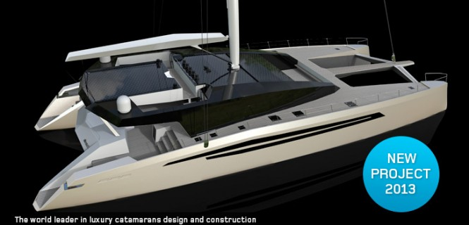 Luxury catamaran yacht Sunreef 90 Ultimate by Sunreef Yachts