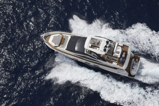 Luxury motor yacht 80 GLX by Astondoa - view from above