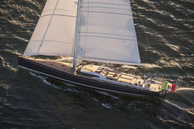 Luxury sailing yacht Almagores II by Southern Wind