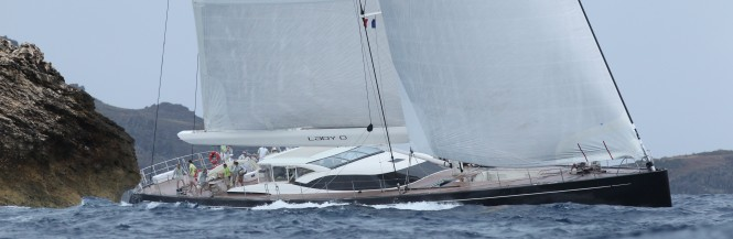 Luxury sailing yacht Lady B