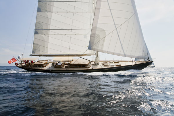 Luxury sailing yacht Simba by Proteksan Turquoise and Hoek Design
