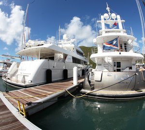 The BVI Port Authority Adds Megayacht Berths To The Road Town - Bvi ports authority cruise ship schedule