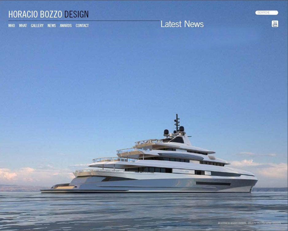 Luxury superyacht designed by Horacio Bozzo