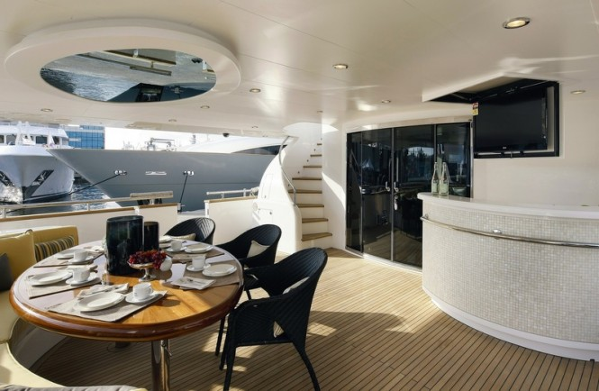Luxury yacht P110 by Horizon - Exterior