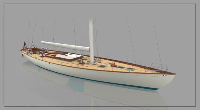 Luxury yacht W.100' by W-Class Yachts to be constructed by Front Street Shipyard