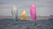 Luxury yachts Silvertip, Ohana and Zefiro at NZ Millennium Cup 2013