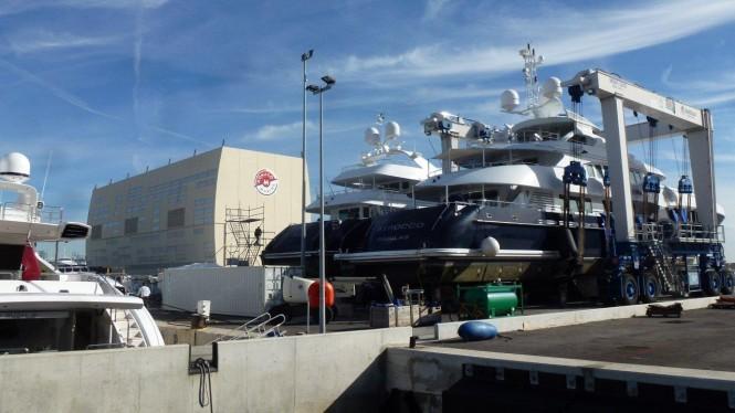 Luxury yachts Sirocco and Kijo
