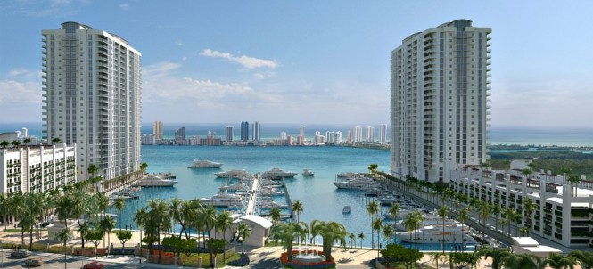 Marina Palms Yacht Club and Residences under development by Plaza Group and DevStar Group