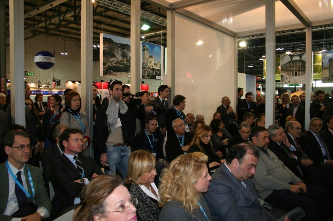 Naples Presentation in Milan