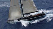Swan 90 superyacht Nefertiti competing in RORC Caribbean 600 2013