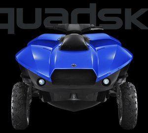 Gibbs Sports Amphibians superyacht toy QUADSKI to be displayed at