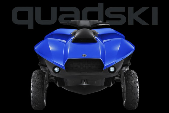 New Gibbs Sports Amphibians superyacht toy QUADSKI