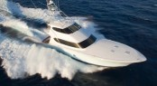 New Hatteras 77 Convertible Yacht equipped with Seakeeper M26000 gyro