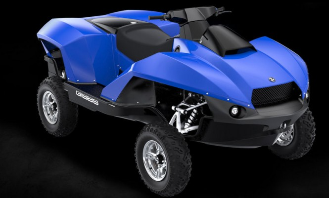 New super yacht toy Quadski developed by Gibbs Sports Amphibians