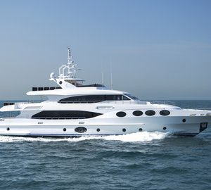 New Gulf Craft Majesty 125 Yacht launched ahead of her Middle Eastern Debut at Dubai Boat Show