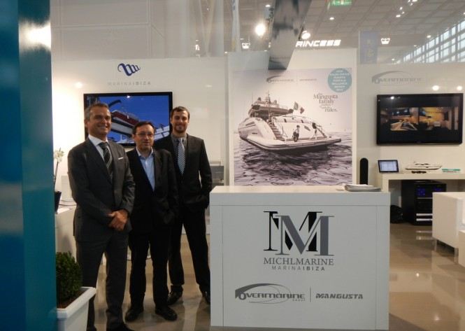 Overmarine Group and Michl Marine at boot Dusseldorf