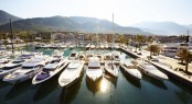 Porto Montenegro Superyacht Marina situated in a beautiful Mediterranean yacht charter destination - Montenegro