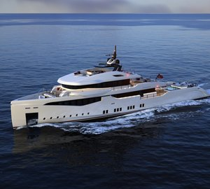 Latest project to compete for IY&A Awards 2013: RMK 5000 True Luxury Explorer Yacht Concept by Hot Lab