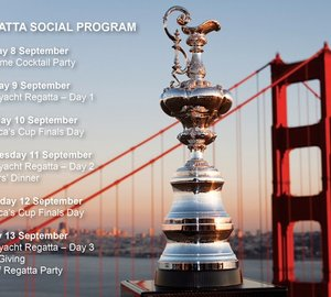 Official Superyacht Regatta of the 34th America's Cup