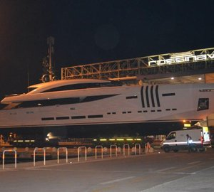 Rossinavi's 48m VELLMARI yacht launched today
