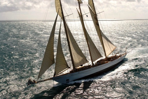 Sailing yacht ADIX - Photo Credit: Pendennis