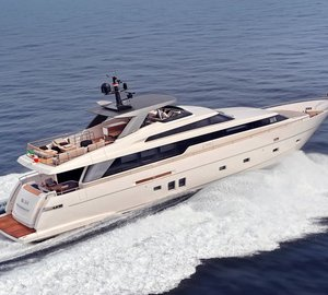 Sanlorenzo SL 94 Yacht becomes the 2012 UIM Environmental Award Winner