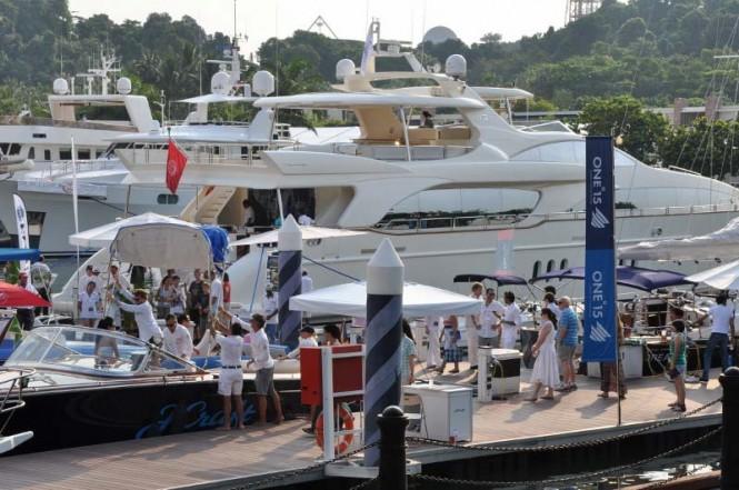 Singapore Yacht Show 2012