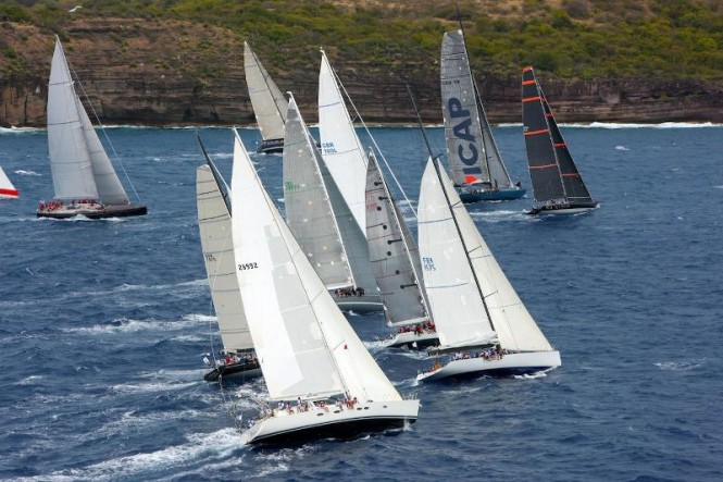 Start of IRC Zero and Canting Keel RORC Caribbean 600 - Credit: Tim Wright/Photoaction.com