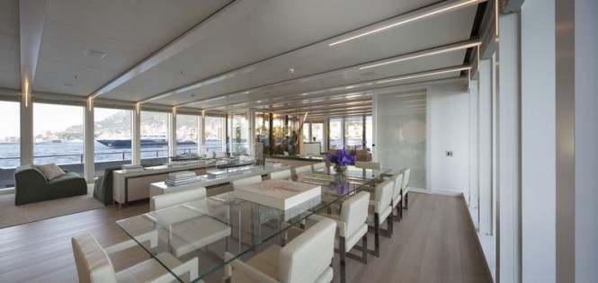 Stella Maris Yacht - Main Salon