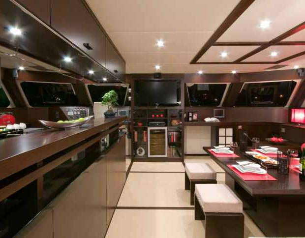 Sunreef 70 Yacht - Galley