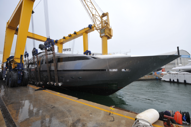 Superyacht 111 by Sanlorenzo - 7th 40Alloy launched by the shipyard