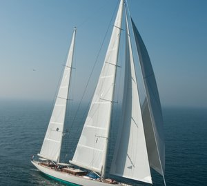Sailing yacht KAMAXITHA with interior design by Rhoades Young nominated for World Superyacht Award 2013