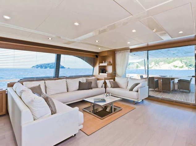 Superyacht Navetta 26 Crescendo - Salon