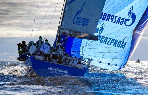 Team Russia aboard Swan 60 yacht Bronenosec © onEdition/Nautor's Swan