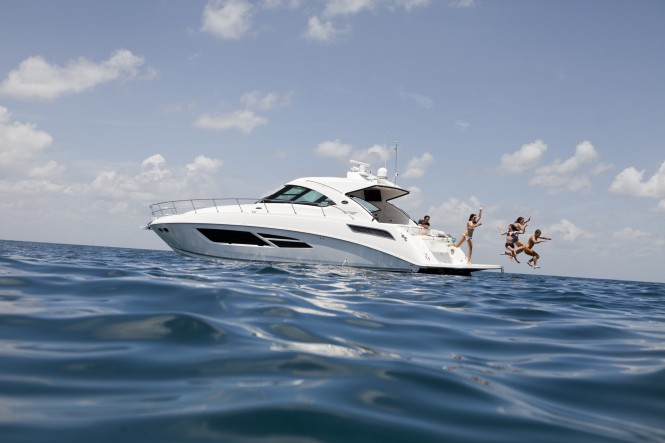 The Sea Ray 540 Sundancer will make its Australian debut at SCIBS imported by Queensland Marine Centre