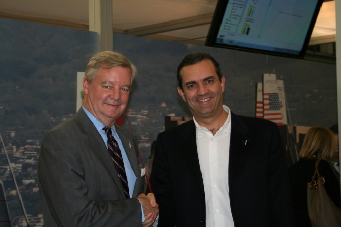 Tom Ehman and Luigi de Magistris
