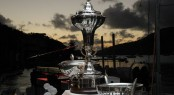 Fantastic array of silverware + The RORC Caribbean 600 Trophy - Credit: Tim Wright/Photoaction.com