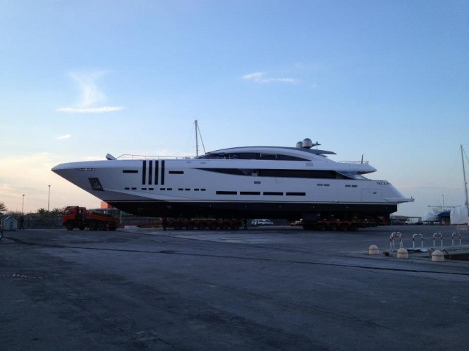 Vellamari yacht by Rossinavi (project Ketos) in Viareggio - Italy