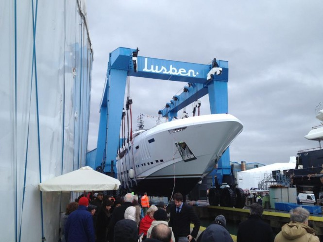 Vellmari superyacht by Rossinavi launched