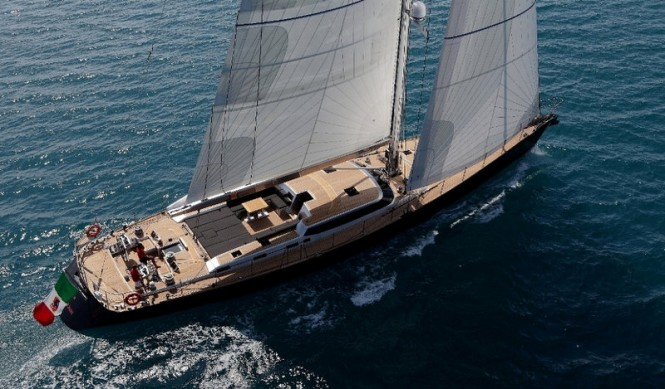 30-metre sailing yacht Xnoi by Perini Navi