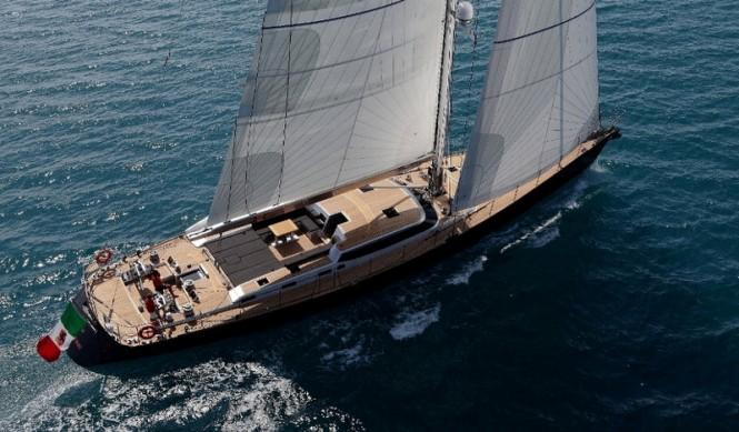 30-metre sailing yacht Xnoi by Perini Navi