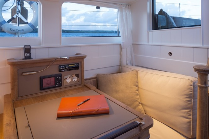 Royal Huisman Sailing Yacht Pumula - Owners Cabin - Photo by Cory Silken
