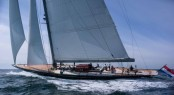 40m J-Class superyacht Rainbow designed by Dykstra Naval Architects