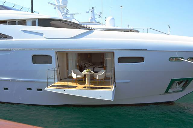 49m Acico charter yacht Lady Dee fitted with electrical systems by Piet Brouwer