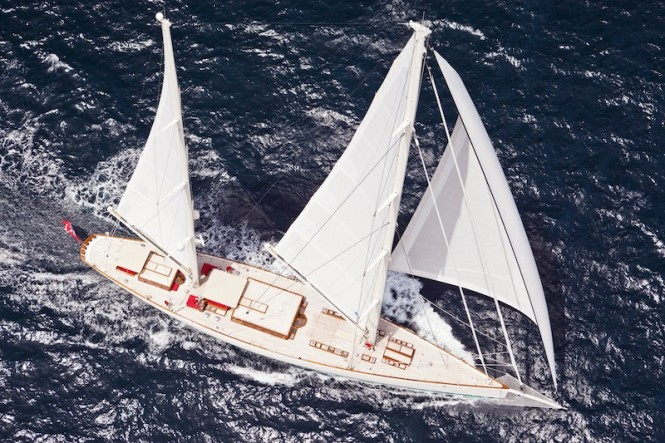 Luxury Ketch - Sailing Yacht Kamaxitha - Photo by Cory Silken